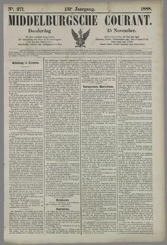 Middelburgsche Courant 1888-11-15