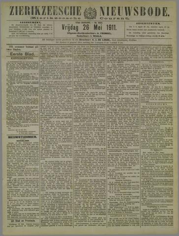 Zierikzeesche Nieuwsbode 1911-05-26