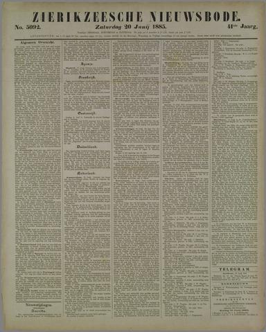 Zierikzeesche Nieuwsbode 1885-06-20