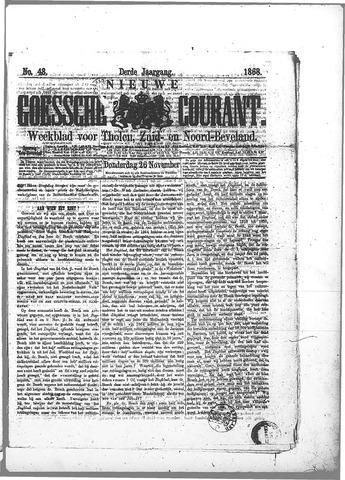 Nieuwe Goessche Courant 1868-11-26