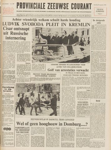 Provinciale Zeeuwse Courant 1968-08-24