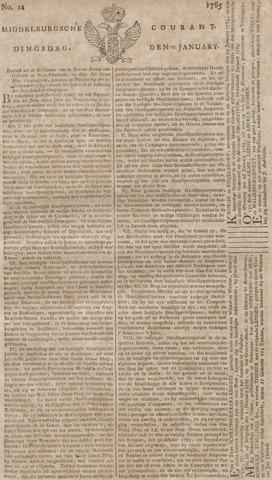 Middelburgsche Courant 1785-01-25