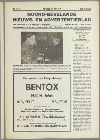 Noord-Bevelands Nieuws- en advertentieblad 1949-05-21