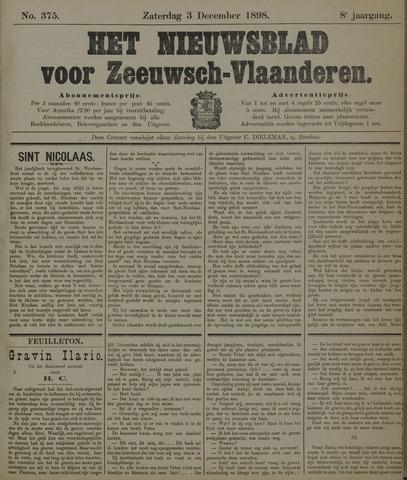 Nieuwsblad voor Zeeuwsch-Vlaanderen 1898-12-03