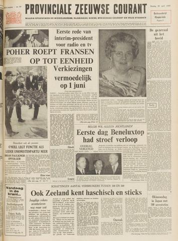 Provinciale Zeeuwse Courant 1969-04-29