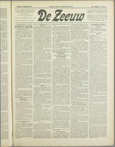 De Zeeuw. Christelijk-historisch nieuwsblad voor Zeeland 1934-08-31