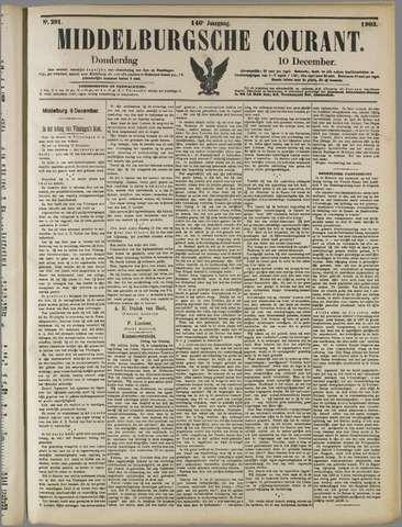 Middelburgsche Courant 1903-12-10