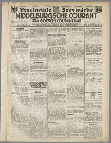 Middelburgsche Courant 1933-09-27