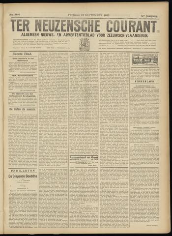 Ter Neuzensche Courant. Algemeen Nieuws- en Advertentieblad voor Zeeuwsch-Vlaanderen / Neuzensche Courant ... (idem) / (Algemeen) nieuws en advertentieblad voor Zeeuwsch-Vlaanderen 1932-09-23