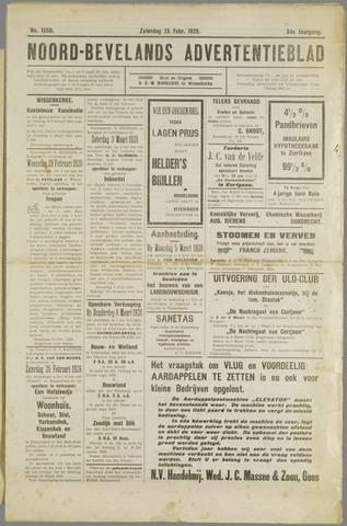 Noord-Bevelands Nieuws- en advertentieblad 1928-02-25
