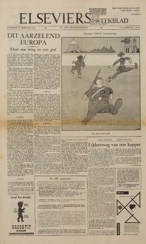 Watersnood documentatie 1953 - kranten 1953-02-21