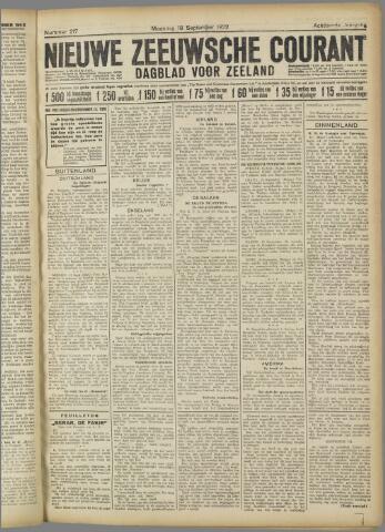 Nieuwe Zeeuwsche Courant 1922-09-18