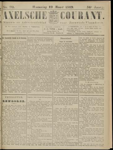 Axelsche Courant 1919-03-19