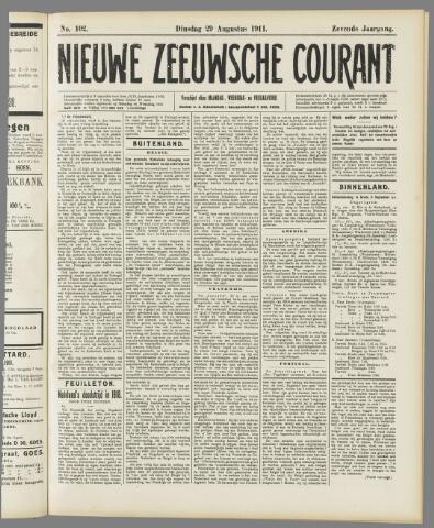 Nieuwe Zeeuwsche Courant 1911-08-29