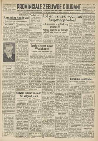 Provinciale Zeeuwse Courant 1947-10-24