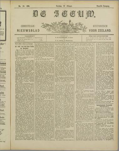 De Zeeuw. Christelijk-historisch nieuwsblad voor Zeeland 1898-02-26