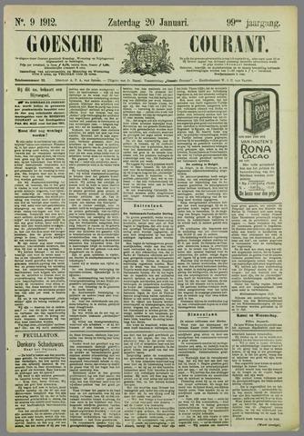 Goessche Courant 1912-01-20