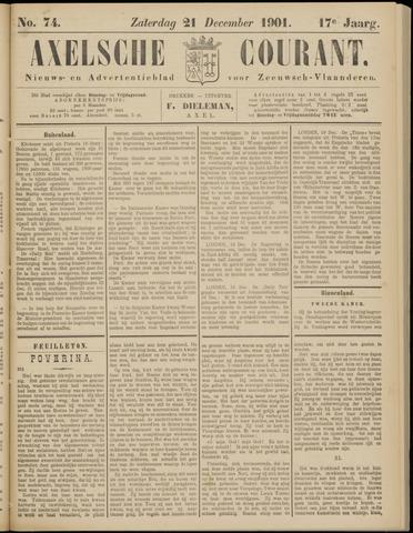 Axelsche Courant 1901-12-21