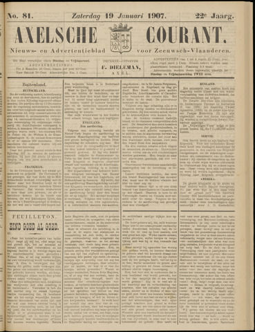 Axelsche Courant 1907-01-19
