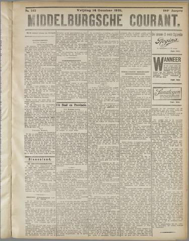 Middelburgsche Courant 1921-10-14