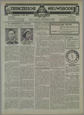 Zierikzeesche Nieuwsbode 1937-05-12