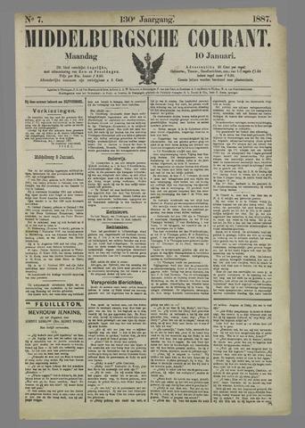 Middelburgsche Courant 1887-01-10