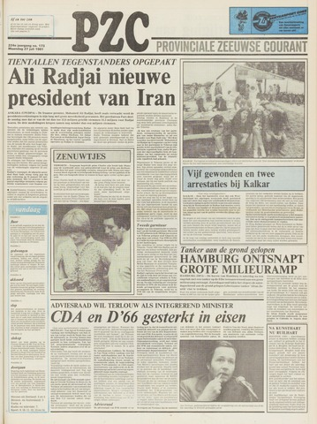 Provinciale Zeeuwse Courant 1981-07-27