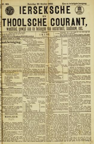 Ierseksche en Thoolsche Courant 1903-10-30