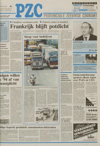 Provinciale Zeeuwse Courant 1992-07-04