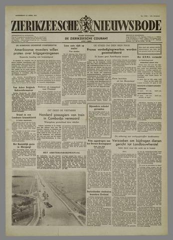 Zierikzeesche Nieuwsbode 1954-04-22