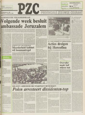 Provinciale Zeeuwse Courant 1980-08-21