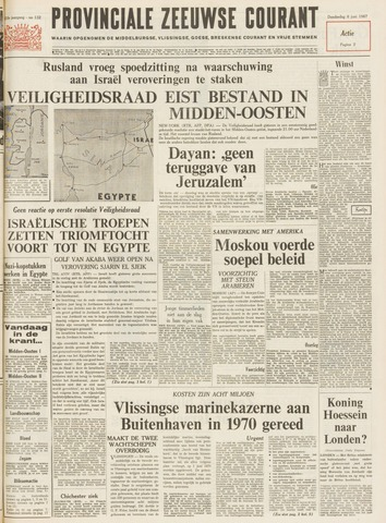 Provinciale Zeeuwse Courant 1967-06-08