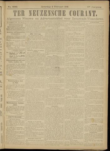 Ter Neuzensche Courant. Algemeen Nieuws- en Advertentieblad voor Zeeuwsch-Vlaanderen / Neuzensche Courant ... (idem) / (Algemeen) nieuws en advertentieblad voor Zeeuwsch-Vlaanderen 1918-02-02
