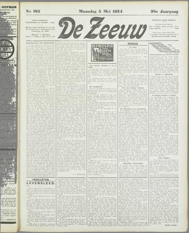 De Zeeuw. Christelijk-historisch nieuwsblad voor Zeeland 1924-05-05