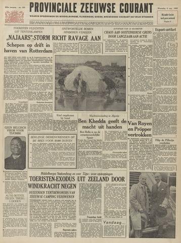 Provinciale Zeeuwse Courant 1962-08-08