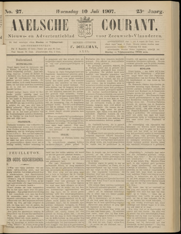 Axelsche Courant 1907-07-10