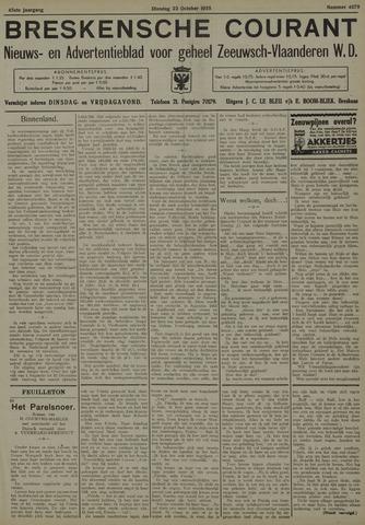 Breskensche Courant 1935-10-22