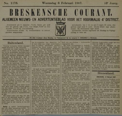 Breskensche Courant 1907-02-06