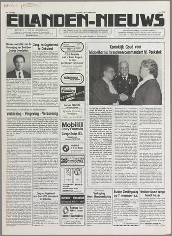 Eilanden-nieuws. Christelijk streekblad op gereformeerde grondslag 1990-11-02