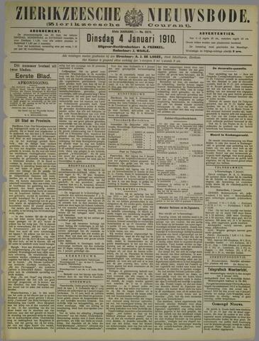 Zierikzeesche Nieuwsbode 1910-01-04