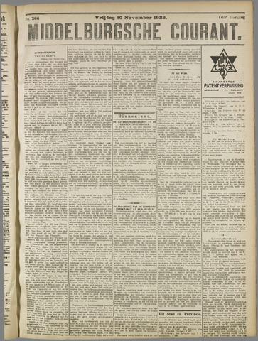 Middelburgsche Courant 1922-11-10