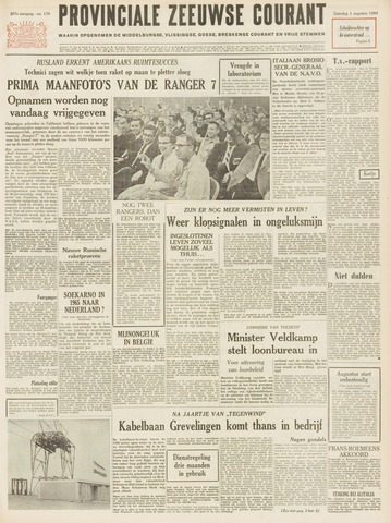 Provinciale Zeeuwse Courant 1964-08-01