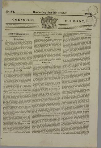 Goessche Courant 1842-10-20