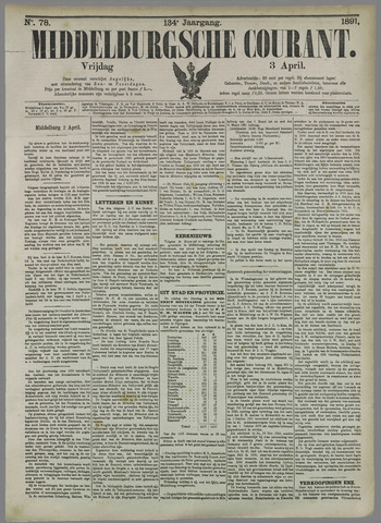 Middelburgsche Courant 1891-04-03