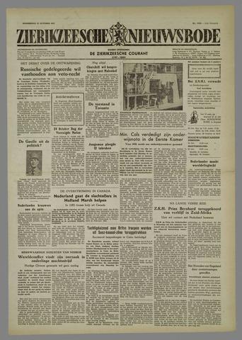 Zierikzeesche Nieuwsbode 1954-10-21
