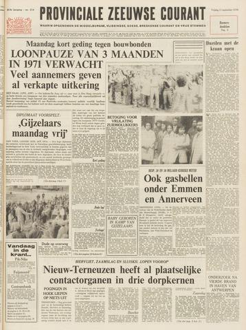 Provinciale Zeeuwse Courant 1970-09-11
