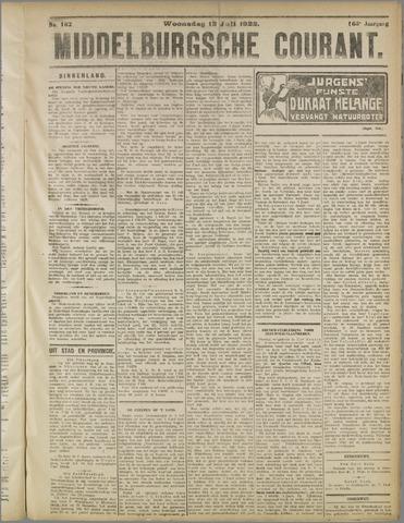 Middelburgsche Courant 1922-07-12