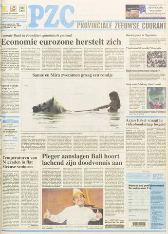 Provinciale Zeeuwse Courant 2003-08-08