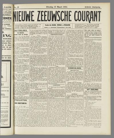 Nieuwe Zeeuwsche Courant 1912-03-12