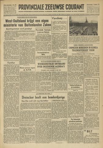 Provinciale Zeeuwse Courant 1951-03-07